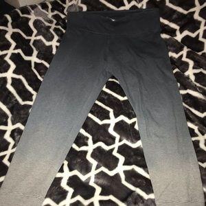 Calvin Klein ombre leggings 7/8 length